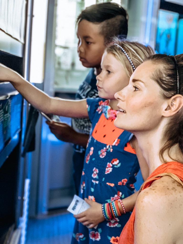 Mom & Daughter at Aquaria KLCC